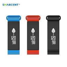 SMARCENT-7 IP67 Водонепроницаемый Смарт-Группы Крови Давление Кислорода в Крови Монитор Сердечного ритма Фитнес-Трекер Браслет для IOS Android