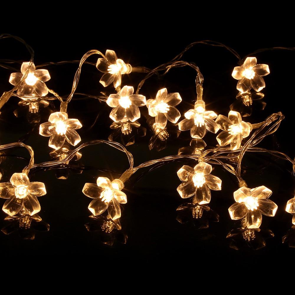 FGHGF Brand 2018 Fairy Lights 10 LED String Lights Party Wedding Garden Outdoor Christmas Decor Lights Xmas Party Garden Decor