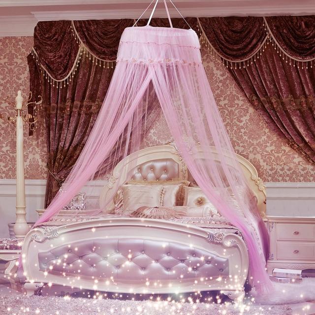 moustiquaires rideau pour ensemble de literie princesse lit lit a baldaquin compensation tente 460331