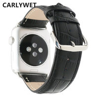 New Pink Black Red White Brown Men Women Real Calf Genuine Leather Wrist Watch Band Belt