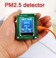 Láser detector de monitoreo de calidad del aire PM2.5 bruma de polvo de medición sensor G3 TFT Digital LCD