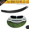 F10 M5 R Style carbon Fiber Front Lip For BMW F10 M5 Bumper 2012-2013