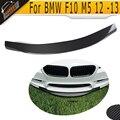 F10 m5 r estilo fibra de carbono frente lip para bmw m5 f10 pára 2012-2013