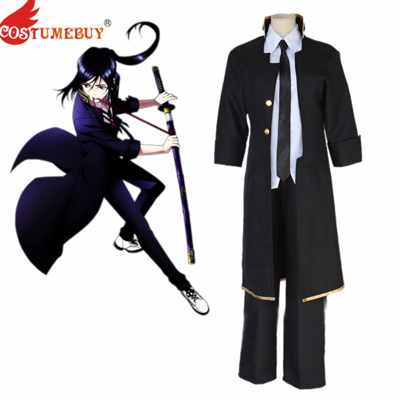 CostumeBuy Anime  K Project K RETURN OF KINGS Yatogami Kuroh Cosplay Costume Adult Mens Uniform Suit L920