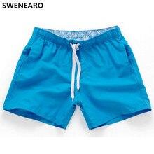 14cf1077ec SWENEARO Beach Shorts Loose Short Trousers Casual Calf-Length Jogger  Sweatpants Man