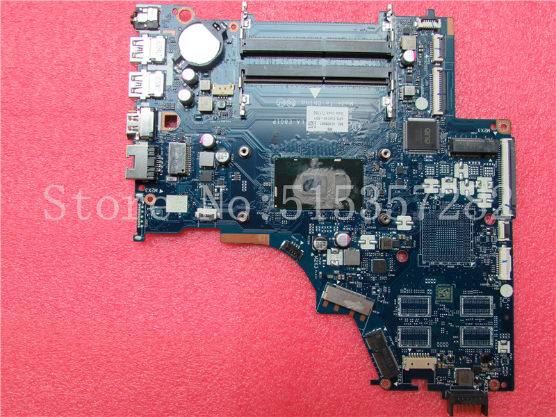 US $170 0 |For HP Notebook 15 BS Series Laptop Motherboard CKL50 LA E801P  924749 601 MOTHERBOARD i3 7100U DDR4 100% Tested-in Motherboards from