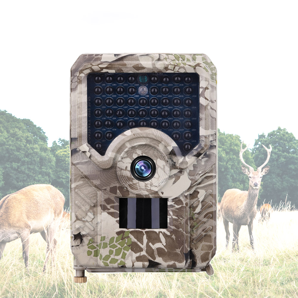 12MP Photo Trap Hunting Camera 49pcs IR LEDs Waterproof Video Wildlife Cameras traps Hunter Night Vision Trail Camera PR200 image