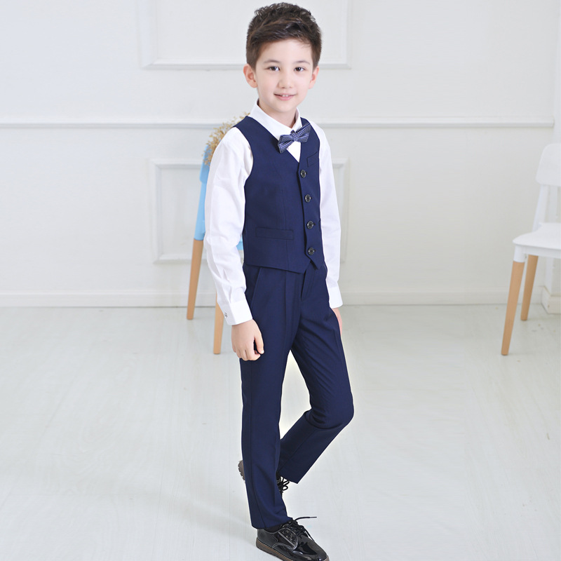 2017 New Boys Formal Suit Autumn Spring Boys Wedding Clothes Party ...