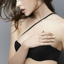 Vogue Secret sexy Half cup Adjusted-strap Big cup bra push up thin women plus size underwear Polyester lingerie Padded bralette
