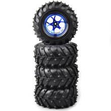 Rc 1:10 bigfoot monster tire rim 4 шт Набор для hsp hpi гоночного
