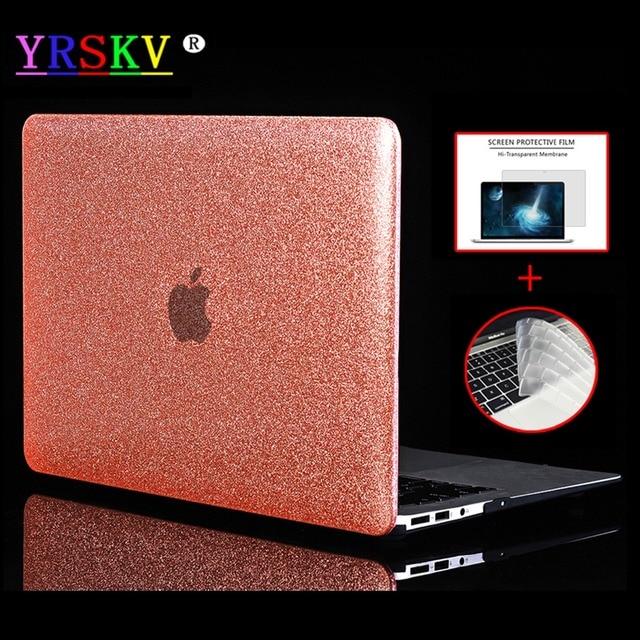 YRSKV-Shine Glitter Hard Laptop Case For Apple Macbook Air Pro Retina 11