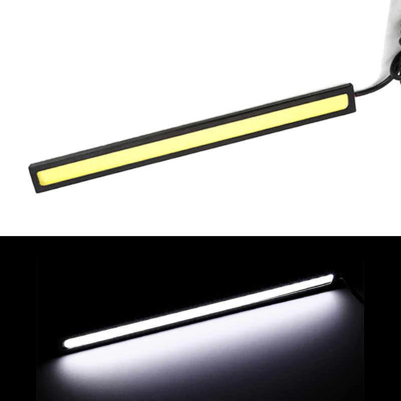 Universal Daytime Running Light COB DRL LED Car Lamp 1 Piece 17cm External Lights Auto Waterproof Car Styling Led DRL Lamp