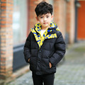 New brand winter down coat boys child short design thickening children's clothing baby kids down jacket parkas for kids 120-150
