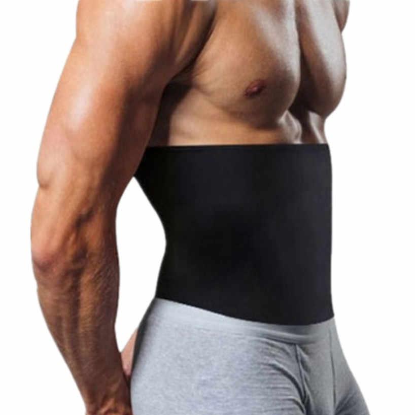 CHENYE erkek absorbe ter sıkıştırma vücut şekillendirme kemeri yeni bel Cinchers zayıflama kemeri yağ yakma iç çamaşırı ince korseler