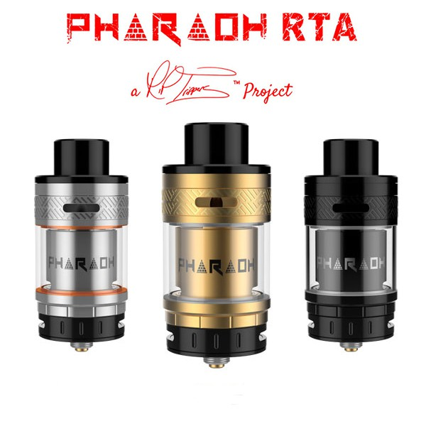 original Digiflavor Pharaoh RTA ecig atomizer Innovative Airflow electronic cigarette atomizer VS geekvape ammit rta