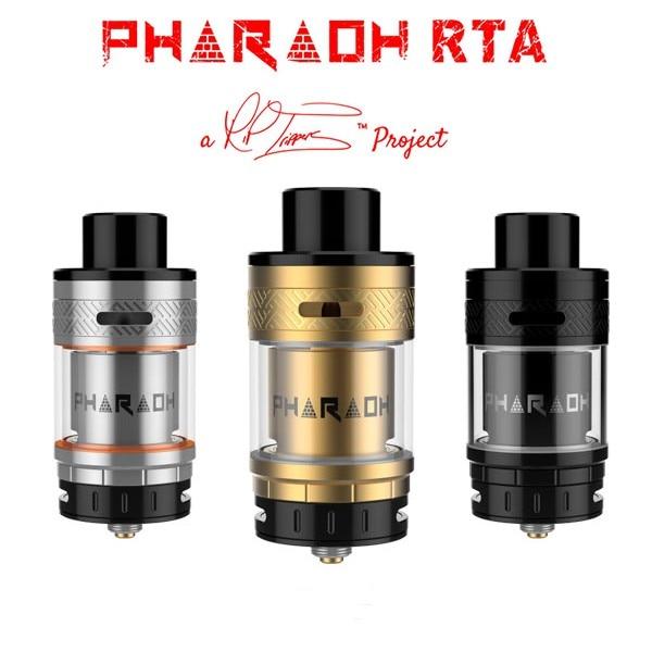 original Digiflavor Pharaoh RTA ecig atomizer Innovative Airflow electronic cigarette atomizer VS geekvape ammit rta