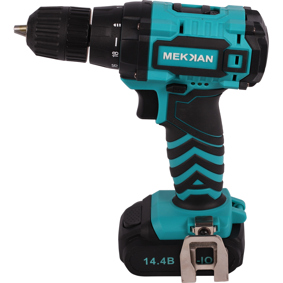 MEKKAN Cordless Drill Screwdriver powertool DIY workshop Renovation work Tool Set Rechargeable Lithium Battery Multi-function drill buddy cordless dust collector with laser level and bubble vial diy tool new