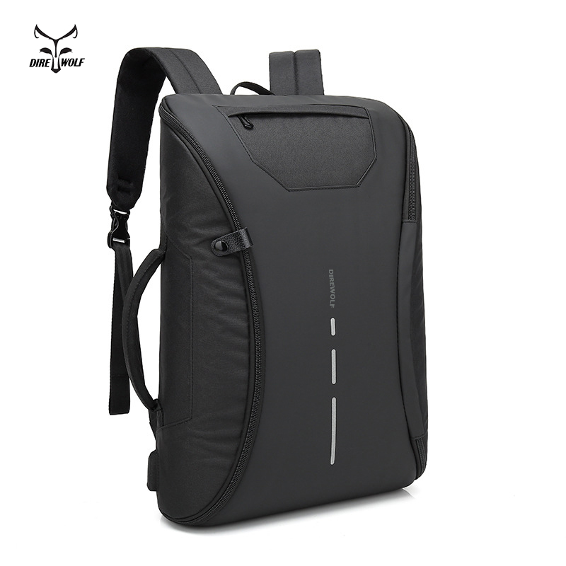 все цены на Men Backpack Anti theft multifunctional Oxford Casual Laptop Backpack With USB Charge Waterproof Travel Bag Computer Bag Bagpack