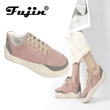 Fujin Brand Spring Summer Fashion Ladies Casual Flat Shoes 2019 New High Quality Special Sneaker for Female Simple Style