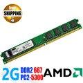 Оптовая Brand New DDR2 DDR 2 667 МГц/PC2 5300 2 ГБ для Настольных ПК DIMM ОПЕРАТИВНОЙ Памяти DDR667 667 МГц/совместимость AMD Материнские Платы