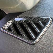 for SKODA KODIAQ Interior carbon fiber trim Air outlet Gear box Steering wheel Center control strip