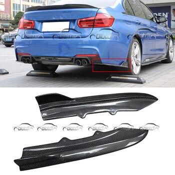 OTD نمط الكربون الألياف الخلفية الخطان الوفير المفسد لسيارات BMW F30 F32 F33 F36 M-TECH M-الرياضة حزمة OLOTDI