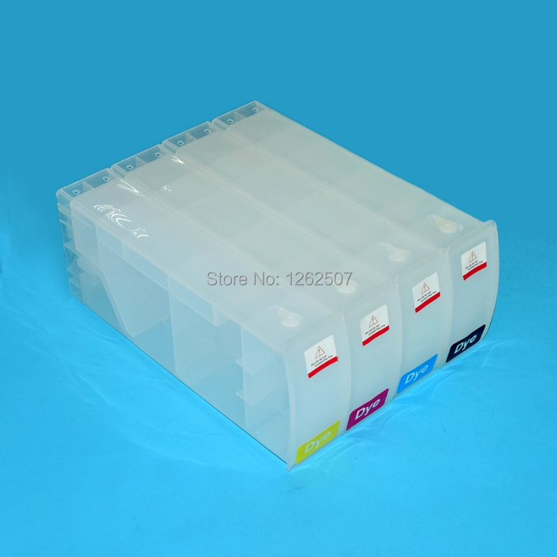 BOMA-TEAM HP80 Wide format Refillable cartridge For HP Designjet 1050 1055 1050PS With chip decoder 800ml/pc 4 colors 680ml refilling cartridge f5500 5100 5000 1050 1055 z6100 6 colors cmyklclm