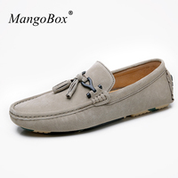 MangoBox Men Shoes Casual Gray Khaki Adult Loafer Sneakers Spring Summer Sneakers For Male Handsome Youth