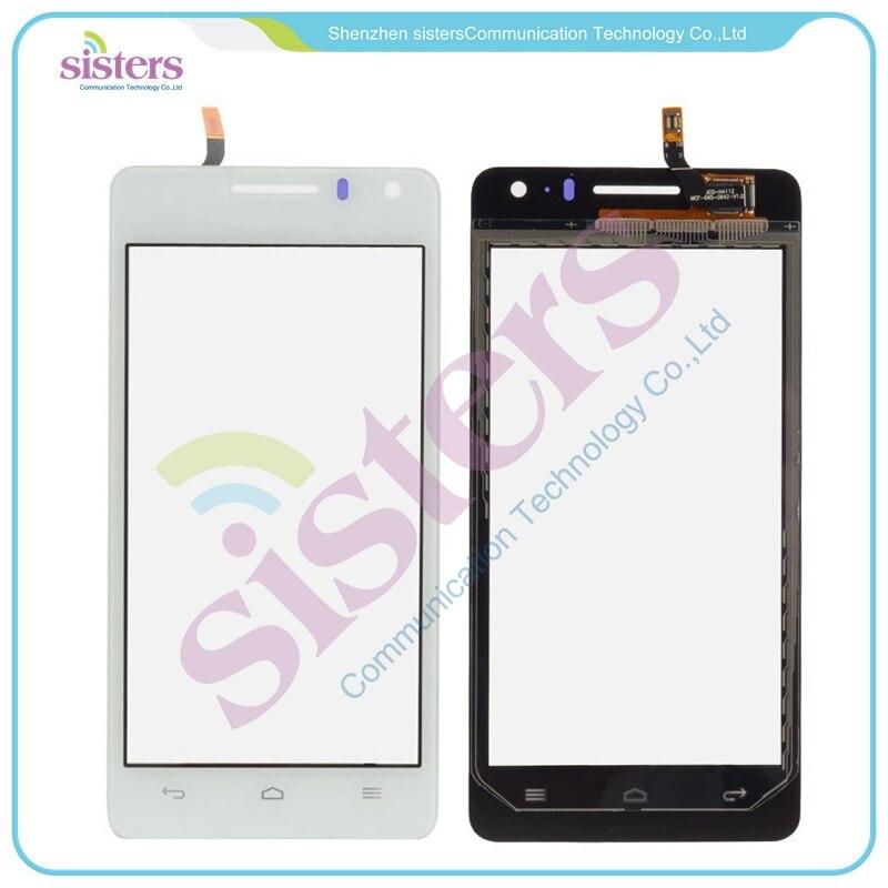 4.5 inch מסך מגע טלפון נייד מסך מגע digitizer עבור huawei honor 2 u9508 g600 u8950d הלוח קדמי זכוכית