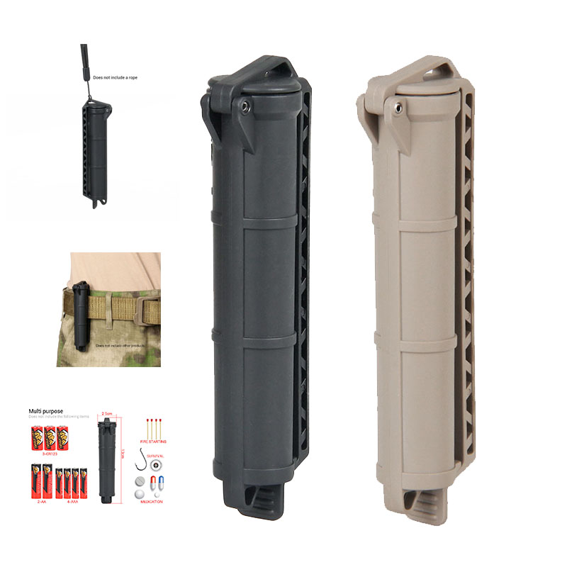 PPT Free Shipping Black TAN Green Color Battery Storage Hanging Belt  For  Outdoor Sport Airsoft  Hunting OS33-0218