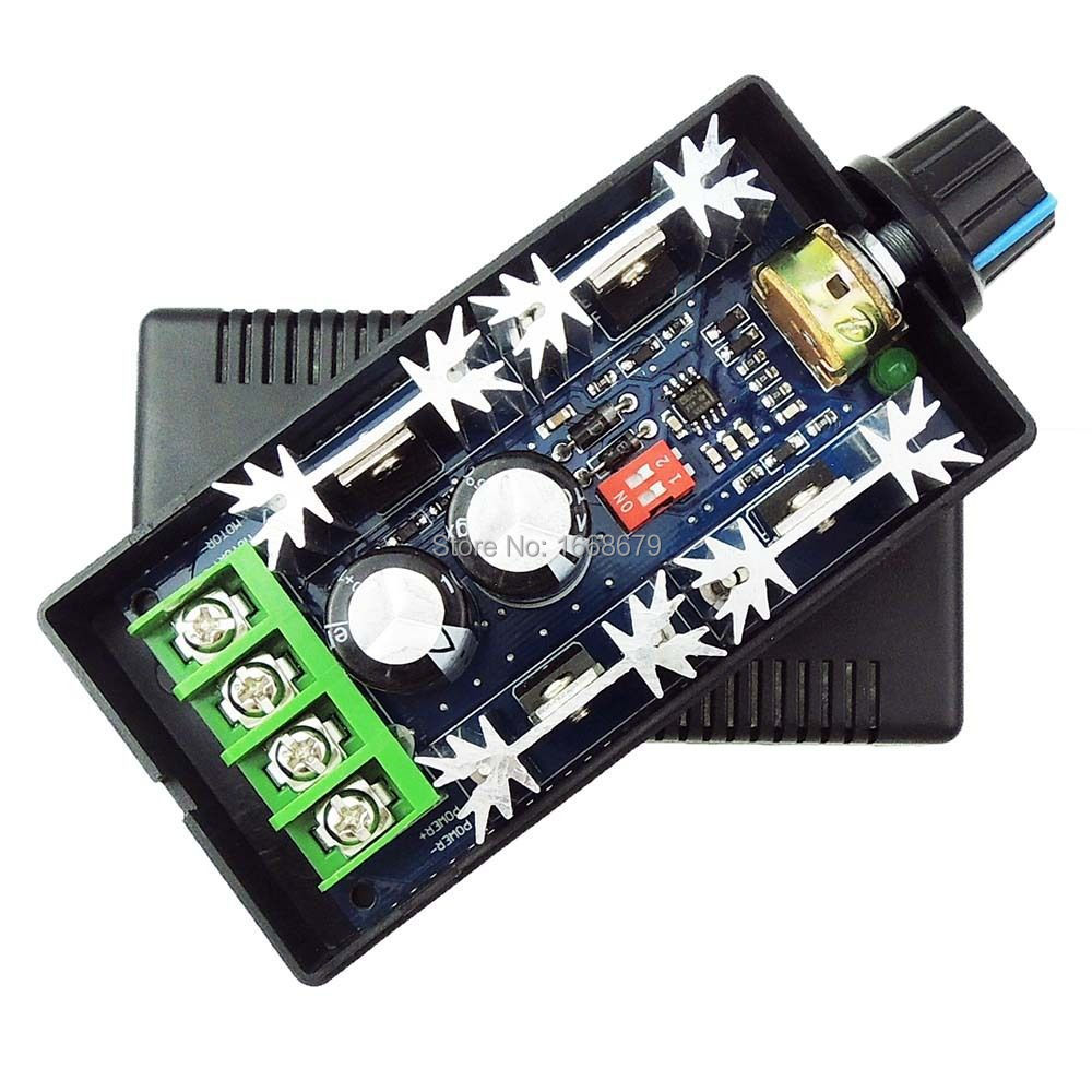 40A PWM DC Motor Controller Speed Regulator Adjustment DC12V /24V /36V /48V motor speed controller regulator dc12v 24v 36v 48v 40a 1000w hho pwm variable speed switch