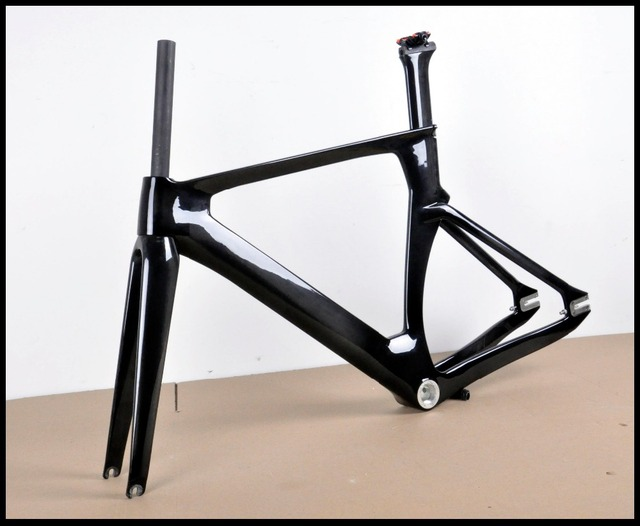 54cm track frame full carbon fiber fixed gear single speed carbon ...