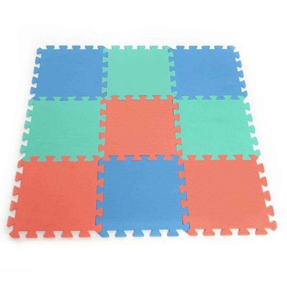 baby EVA Foam Play Puzzle Mat/ 10pcs/lot Interlocking Exercise Tiles ...