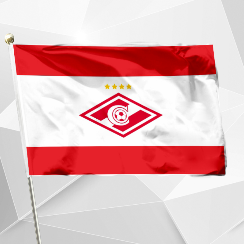 Флаг спартака картинки