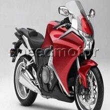 Parafusos + Presentes + vermelho VFR1200 2010-2013 moto Carenagem molde de Injeção para Honda VFR 1200 10 11 12 13 kit plástico ABS