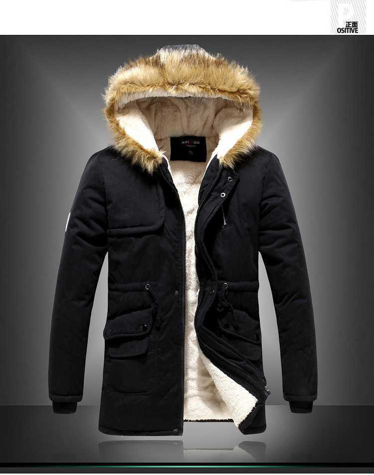 Brand New 2015 Men Fur Hooded Cotton-Padded Coats Fashion Winter Women Thicken Jackets Couples Overcoats Outerwear H4395 brand new 2015 men fur hooded cotton padded coats fashion winter women thicken jackets couples overcoats outerwear h4395