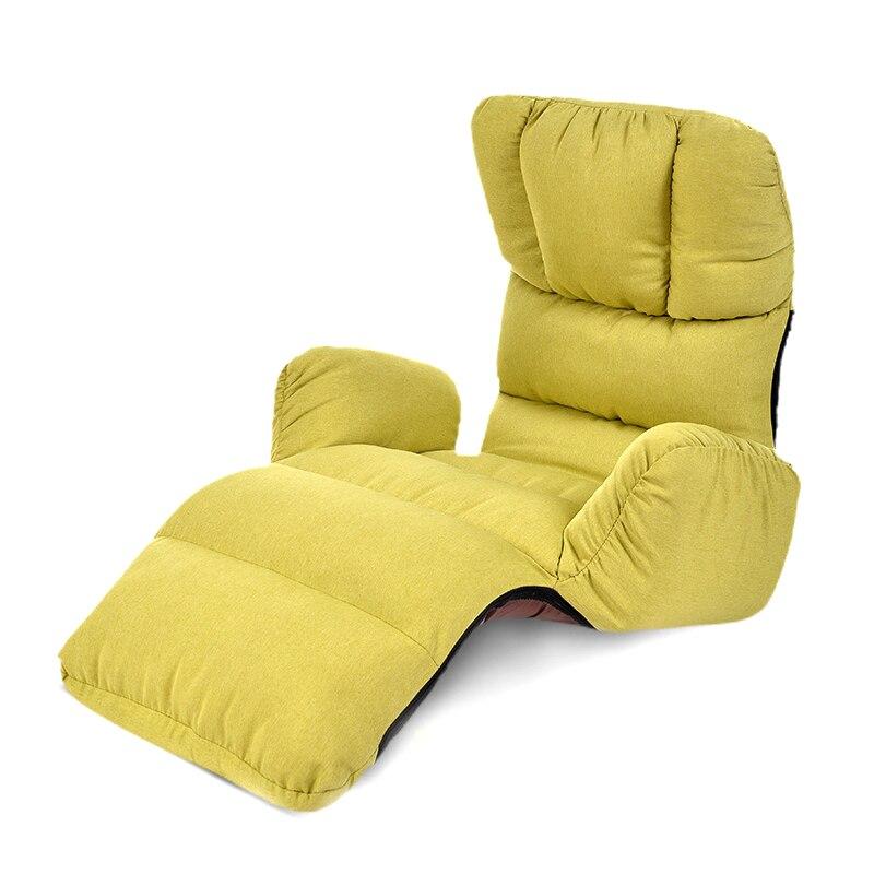 Wondrous Us 126 37 20 Off Japanese Lazy Sofa Bedroom Single Sofa Bed Tatami Bay Window Sofa Floor Sofa Folding Chair In Chaise Lounge From Furniture On Creativecarmelina Interior Chair Design Creativecarmelinacom