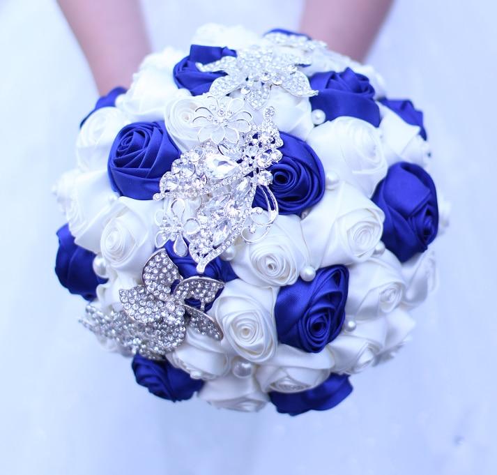 Novia libre del envío que sostiene las flores, ramo de la novia de - Accesorios de boda - foto 6