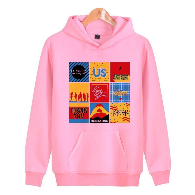 Female Sweatshirt Womanhoody Japanese Hoodies Women Korean <font><b>K</b></font> <font><b>Pop</b></font> New Harajuku Streetwear Pullover Kawaii image
