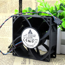 Delta AFC0912DE 9CM 9,2 CM 9038 CM 9238 90mm 92mm 12V DC 2.5A coche de ventilador de enfriamiento violento envío gratis Venta al por mayor