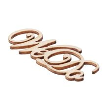 15Pcs Wooden We Do Table Confetti Scatter Vintage Rustic Wedding Party Decor Craft Scrapbook Decorations