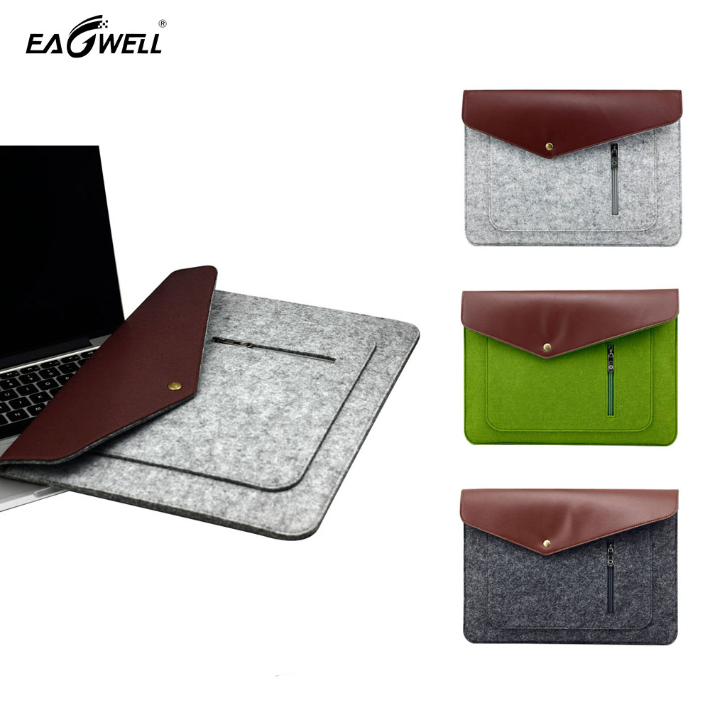 10 inch Universal Felt Tablet Case For iPad Air 2 Pro 9.7 Cover Pouch Ultrabook Sleeve Bag For Samsung For Lenove Skin Shell