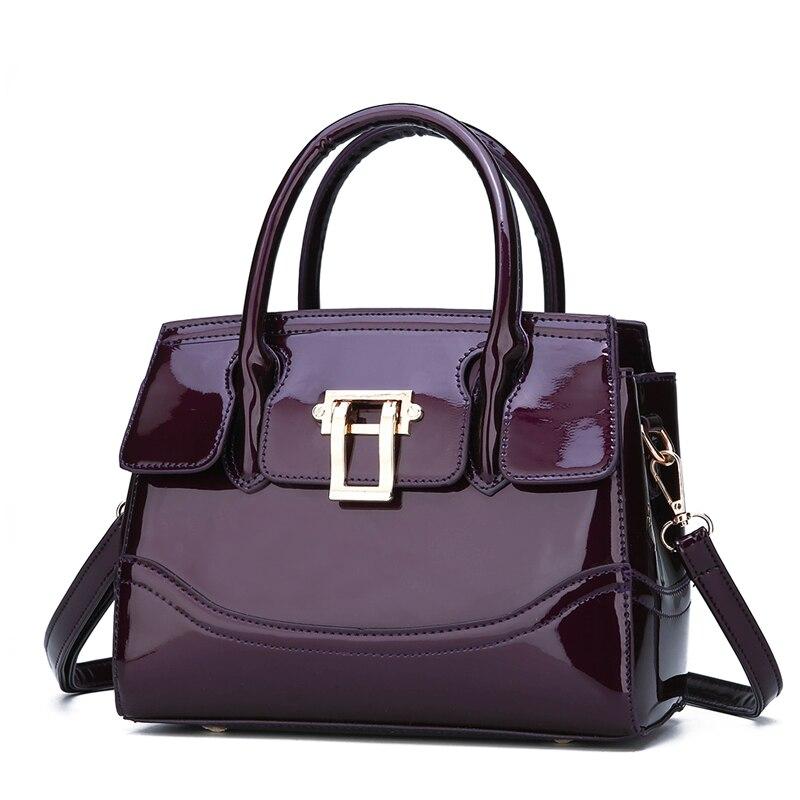 Femminile Black Sacchetto Elegante Per Cuoio Donne Casual Borsa Tracolla Red Del Spalla Di A D Modo purple Elaborazione Progettista Le Acquisto dark Lusso Della Dell'unità TITq1f7