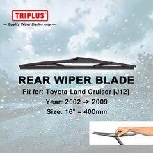 Rear Wiper Blade for Toyota Land Cruiser J12 (2002-2009) 1pc 16″ 400mm, Back Windscreen Windshield Wiper Blade
