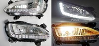 2 Pcs/set Waterproof daytime driving running lights LED Car DRL for 2013 2014 Hyundai santa fe ix45 ,fog lamp