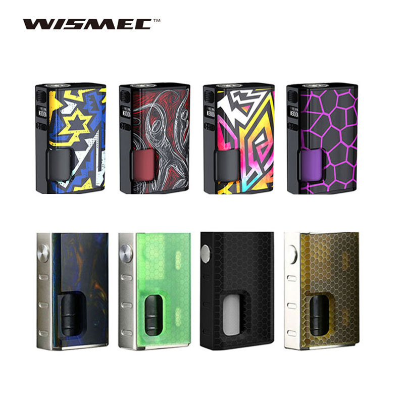 WISMEC Luxotic BF boîte MOD & Surface Mod W/7.5 ml bouteille rechargeable pour Tobhino BF RDA e-cig mod No 18650 batterie vs LUXE
