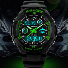 S SHOCK 2016 New Luxury Brand Men Military Sports Watches Digital LED Quartz Wristwatches rubber strap relogio masculino