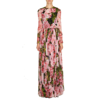 2017 Autumn New Fashion Customize Made Women Plus Size 3XS 10XL Amazing Bohemia Flowers Printed Floor length Maxi Long Dress