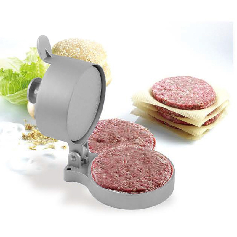 Burger Press Hamburger Patty Maker Meat Aluminum Alloy Non-Stick for Kitchen Pressed meatloaf HTQ99 image