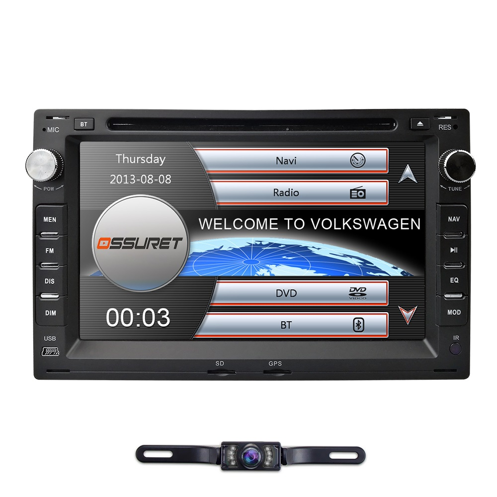 Free shipping! car gps dvd player fit for VW/Volkswagen/PASSAT/B5/MK5/GOLF/POLO/TRANSPORTER with bluetooth RDS FM AM